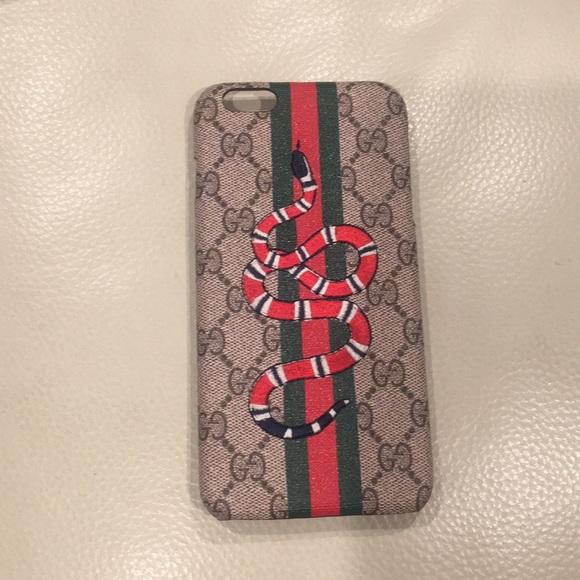 brand new e960c c5456 Gucci Supreme Snake IPhone 6/6s Case